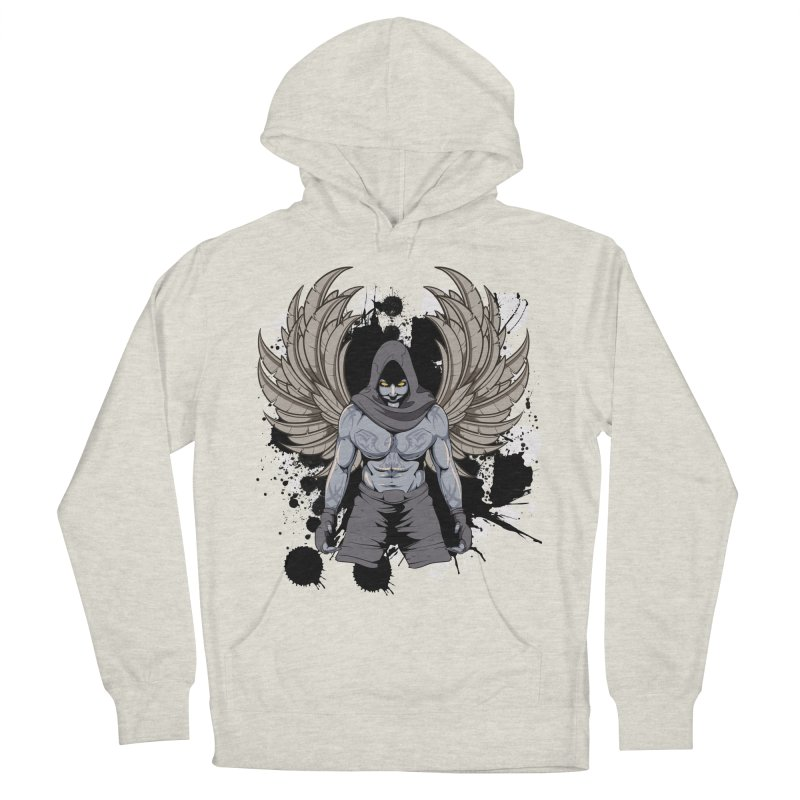 Fighter Women's French Terry Pullover Hoody by Oblivion Design's Artist Shop