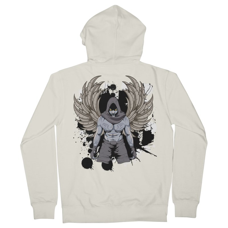Fighter Women's Zip-Up Hoody by Oblivion Design's Artist Shop