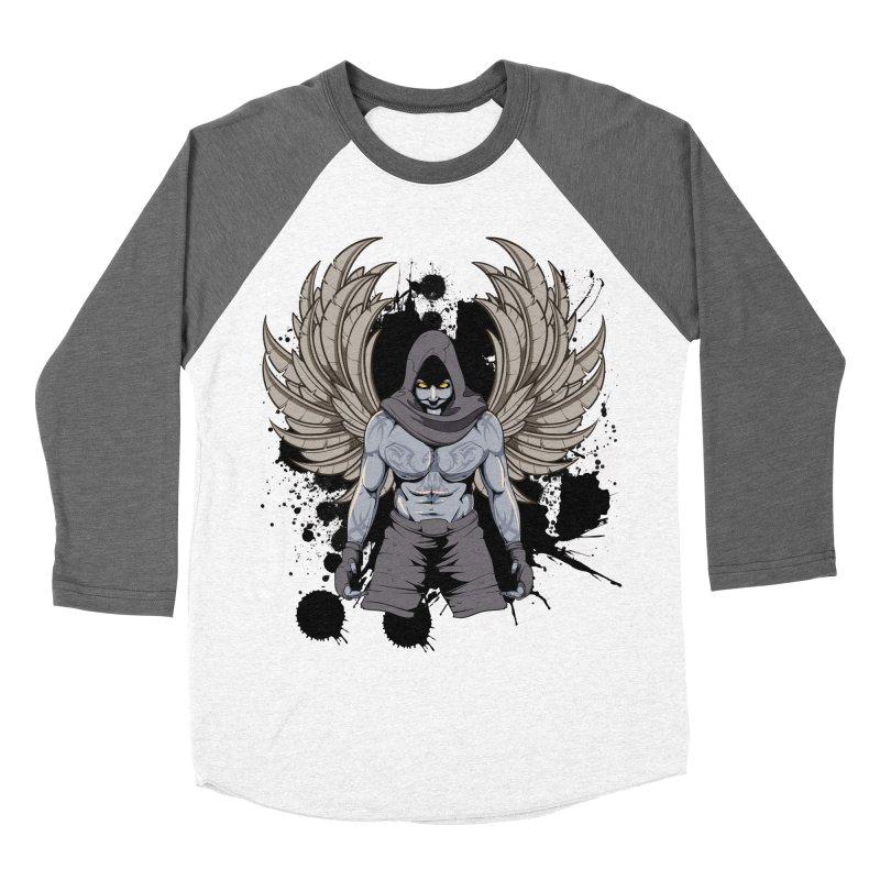 Fighter Women's Baseball Triblend Longsleeve T-Shirt by Oblivion Design's Artist Shop