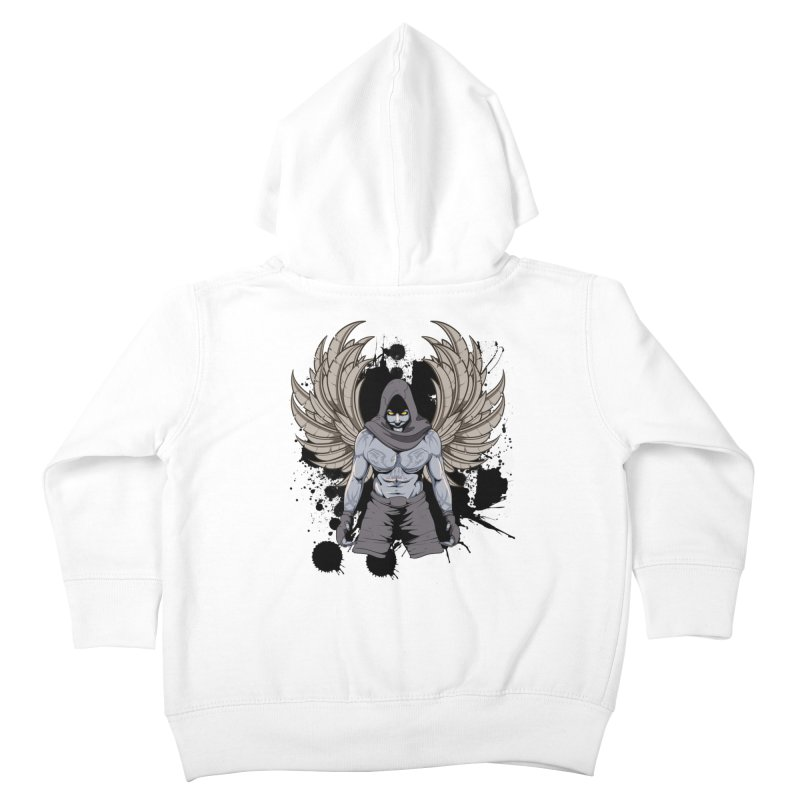 Fighter Kids Toddler Zip-Up Hoody by Oblivion Design's Artist Shop