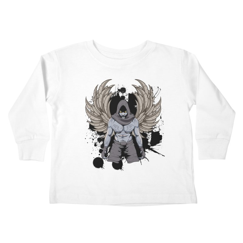 Fighter Kids Toddler Longsleeve T-Shirt by Oblivion Design's Artist Shop