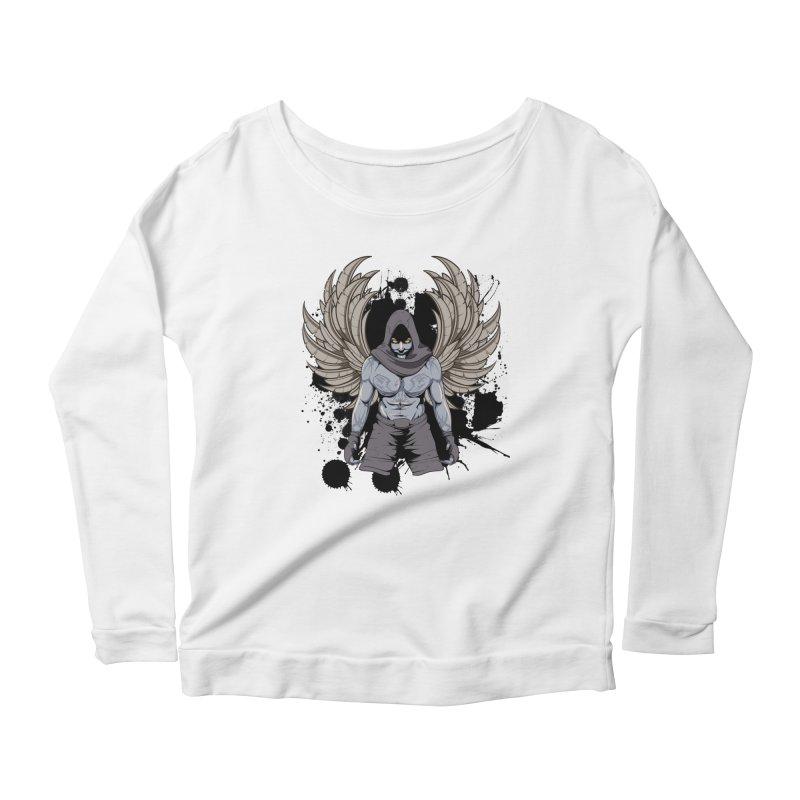 Fighter Women's Scoop Neck Longsleeve T-Shirt by Oblivion Design's Artist Shop