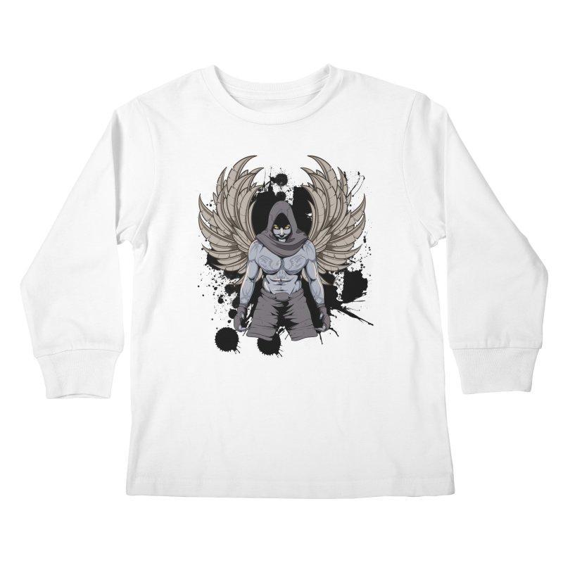 Fighter Kids Longsleeve T-Shirt by Oblivion Design's Artist Shop