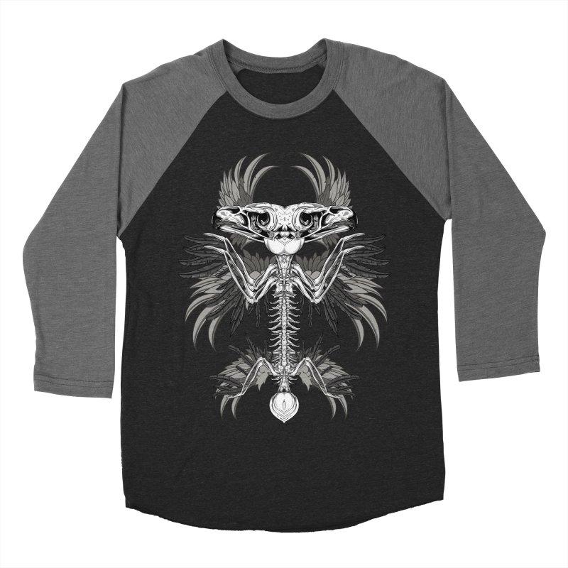 Skeleton Bird Women's Baseball Triblend Longsleeve T-Shirt by Oblivion Design's Artist Shop