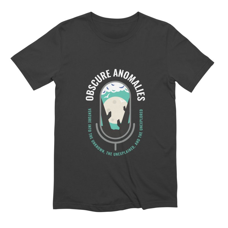 Obscure Anomalies Mic Logo Men's Extra Soft T-Shirt by obscureanomalies's Artist Shop