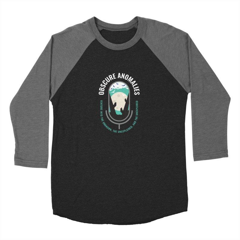 Obscure Anomalies Mic Logo Women's Baseball Triblend Longsleeve T-Shirt by obscureanomalies's Artist Shop