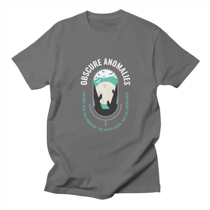 Obscure Anomalies Mic Logo Men's T-Shirt by obscureanomalies's Artist Shop