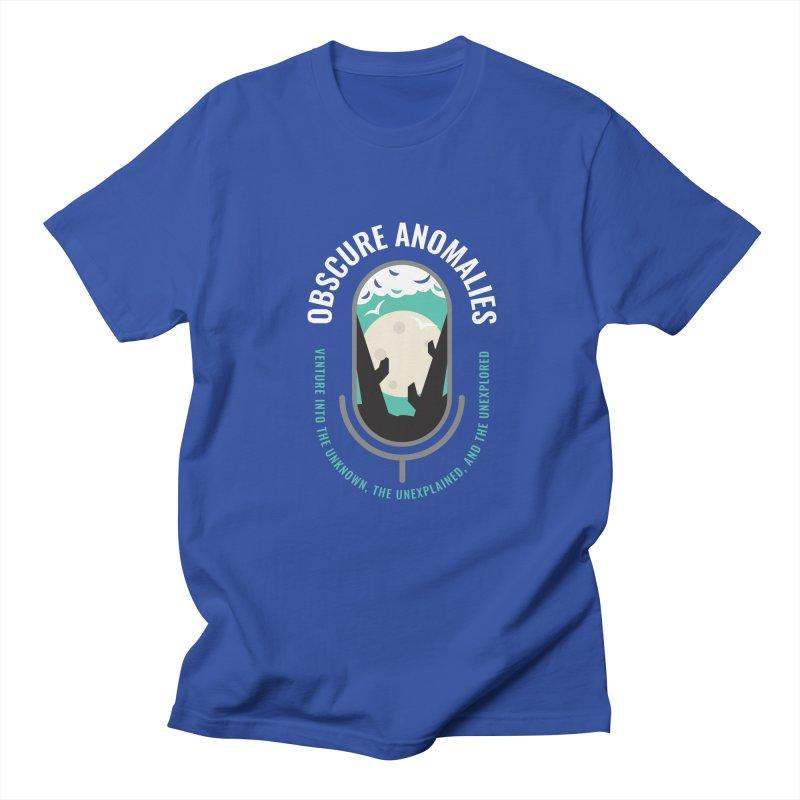 Obscure Anomalies Mic Logo Men's Regular T-Shirt by obscureanomalies's Artist Shop