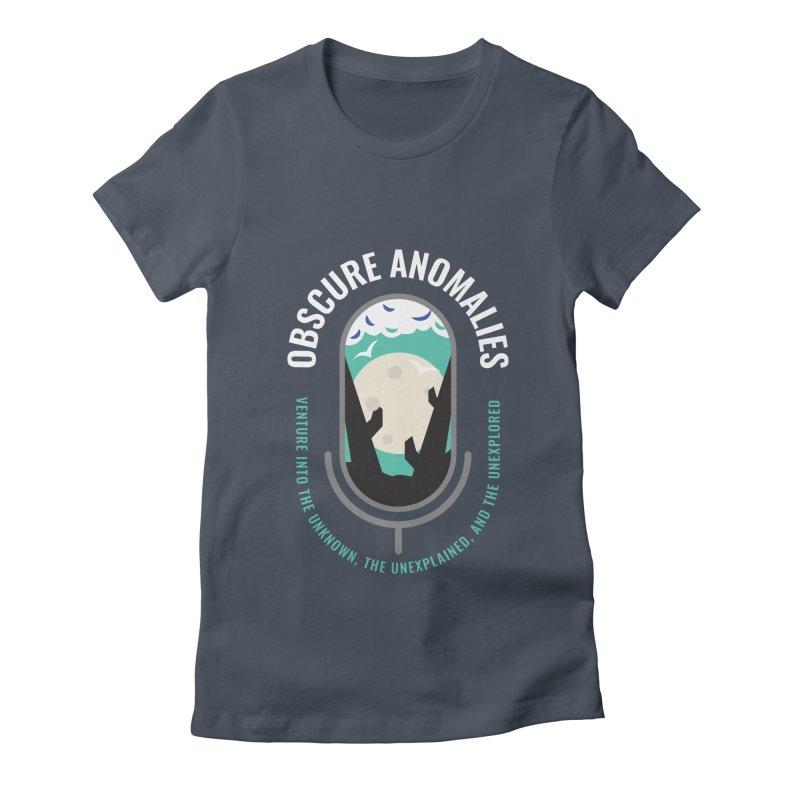 Obscure Anomalies Mic Logo Women's T-Shirt by obscureanomalies's Artist Shop