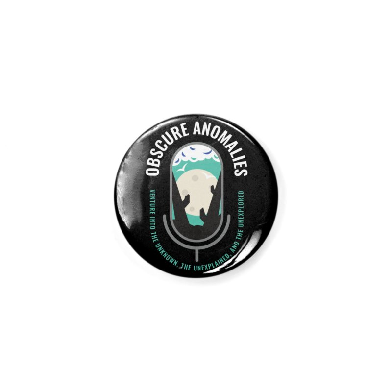 Obscure Anomalies Mic Logo Accessories Button by obscureanomalies's Artist Shop