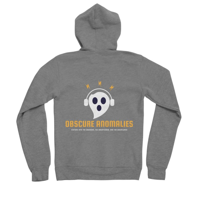 Oscar the Obscure Anomaly Women's Zip-Up Hoody by obscureanomalies's Artist Shop