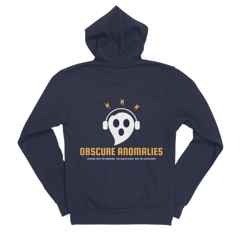 Oscar the Obscure Anomaly Men's Sponge Fleece Zip-Up Hoody by obscureanomalies's Artist Shop