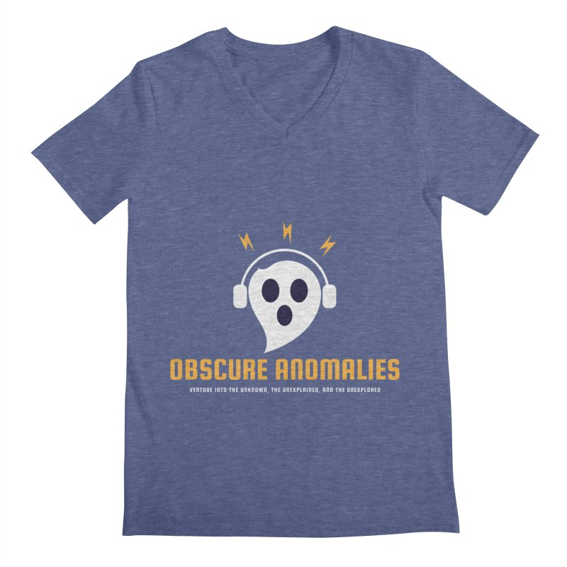 Oscar the Obscure Anomaly Men's Regular V-Neck by obscureanomalies's Artist Shop