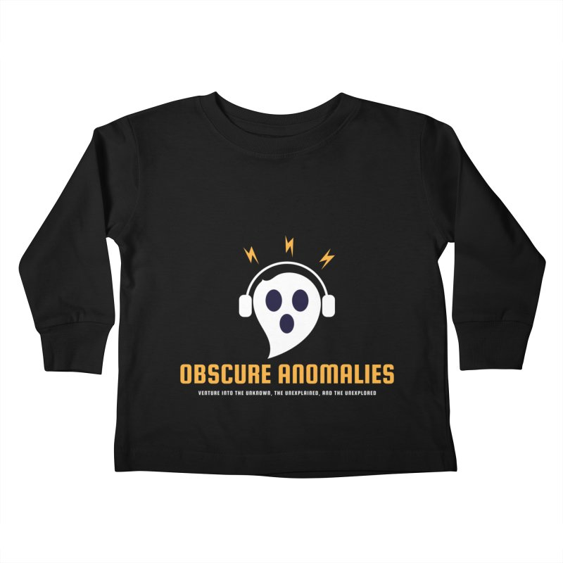 Oscar the Obscure Anomaly Kids Toddler Longsleeve T-Shirt by obscureanomalies's Artist Shop