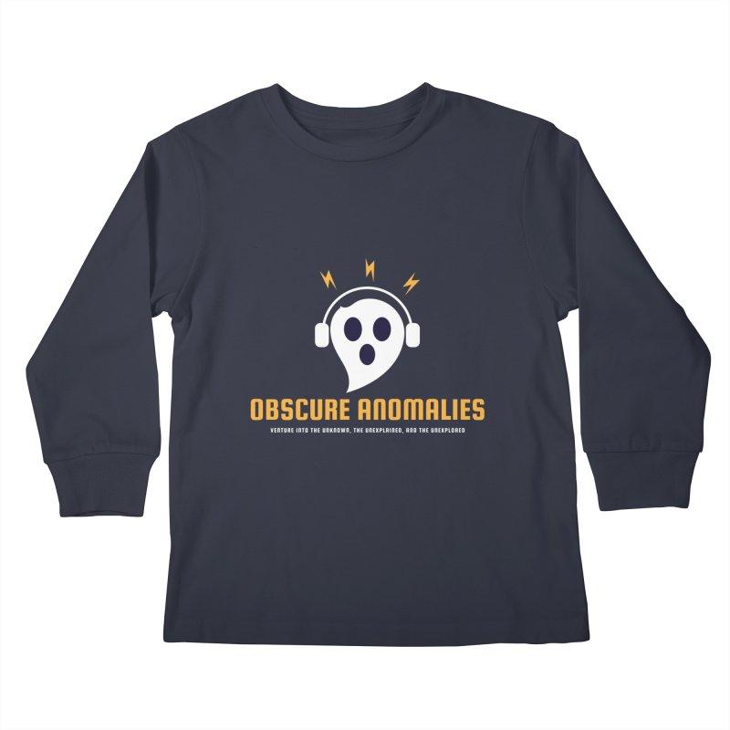 Oscar the Obscure Anomaly Kids Longsleeve T-Shirt by obscureanomalies's Artist Shop