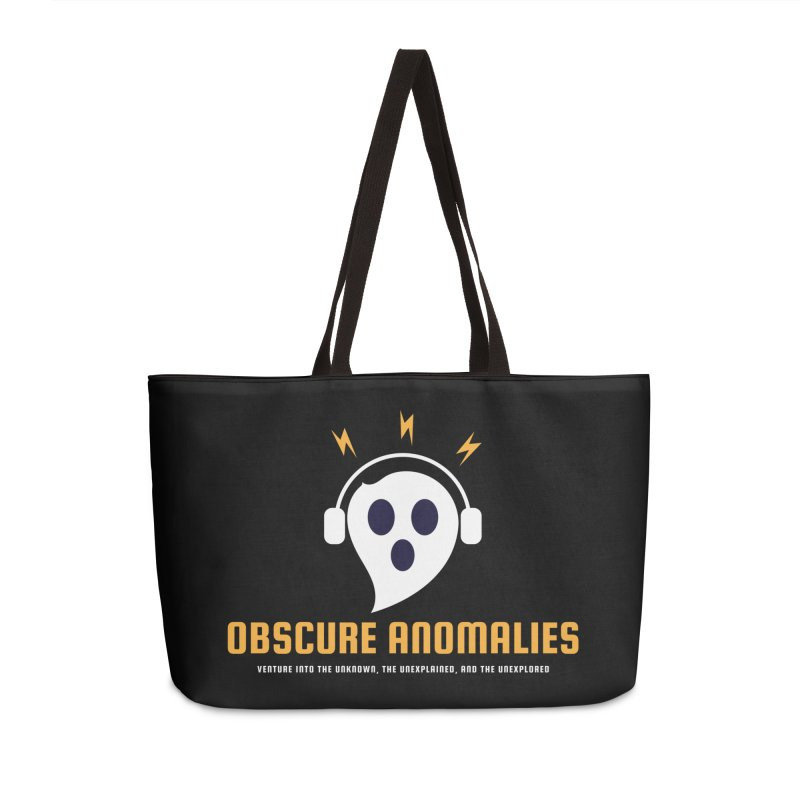 Oscar the Obscure Anomaly Accessories Weekender Bag Bag by obscureanomalies's Artist Shop