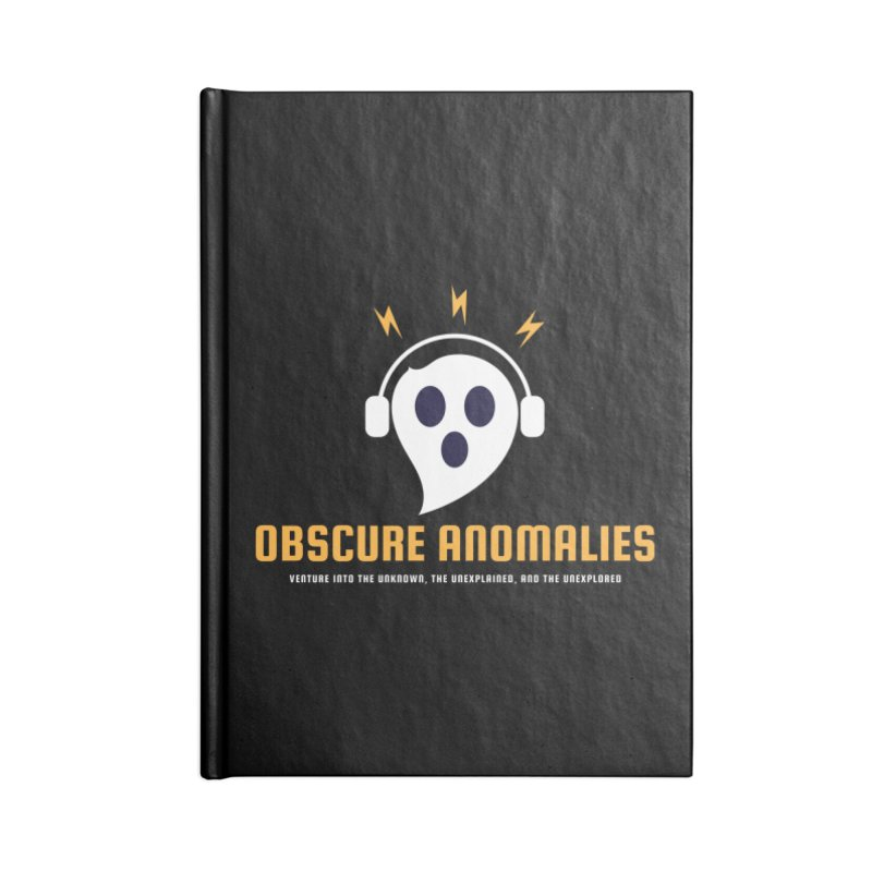 Oscar the Obscure Anomaly Accessories Lined Journal Notebook by obscureanomalies's Artist Shop