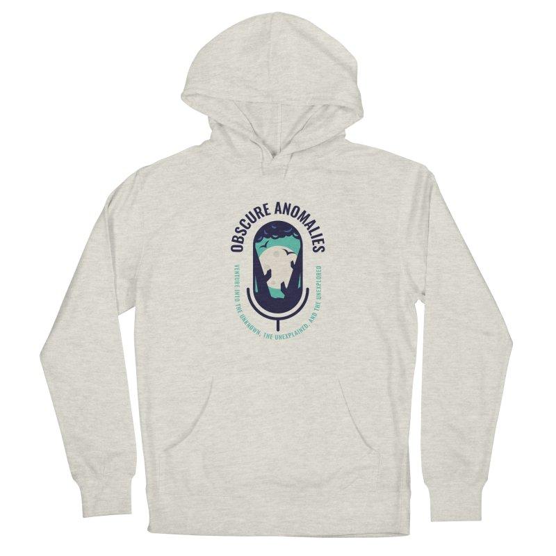 Obscure Anomalies Mic Logo Men's Pullover Hoody by obscureanomalies's Artist Shop