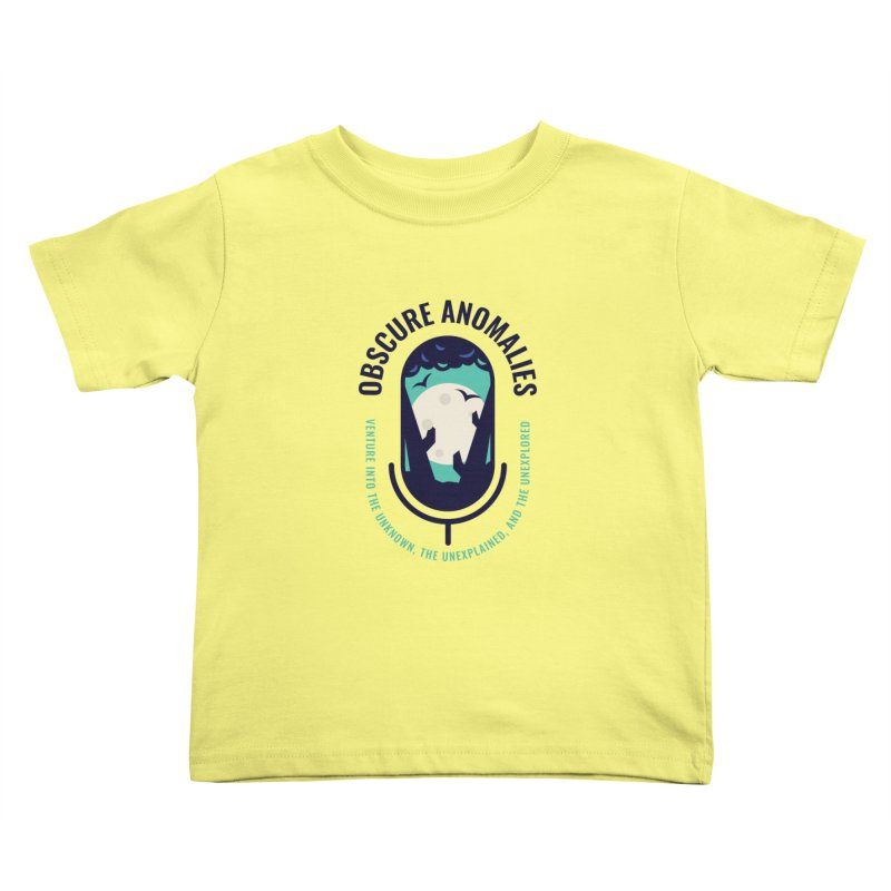 Obscure Anomalies Mic Logo Kids Toddler T-Shirt by obscureanomalies's Artist Shop