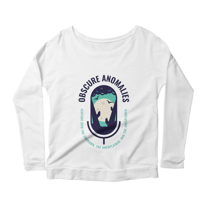 Obscure Anomalies Mic Logo Women's Scoop Neck Longsleeve T-Shirt by obscureanomalies's Artist Shop