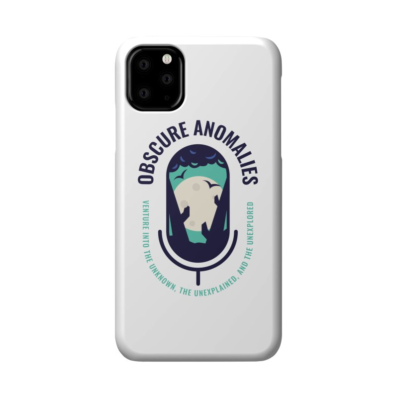 Obscure Anomalies Mic Logo Accessories Phone Case by obscureanomalies's Artist Shop