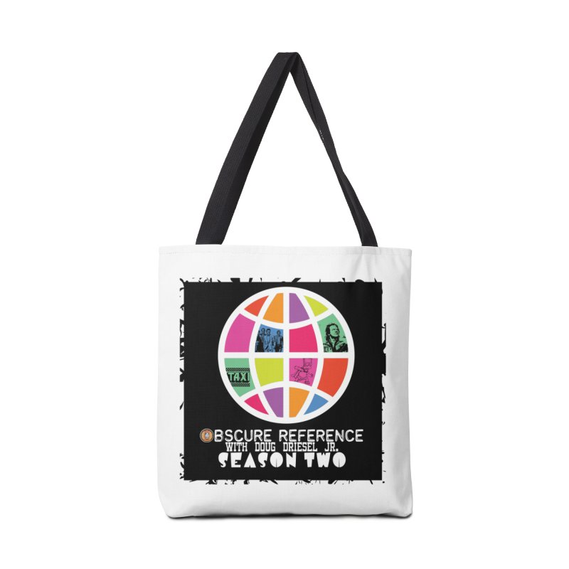 Season Two Non-Shirt Accessories Bag by obscurereferencepodcast's Artist Shop