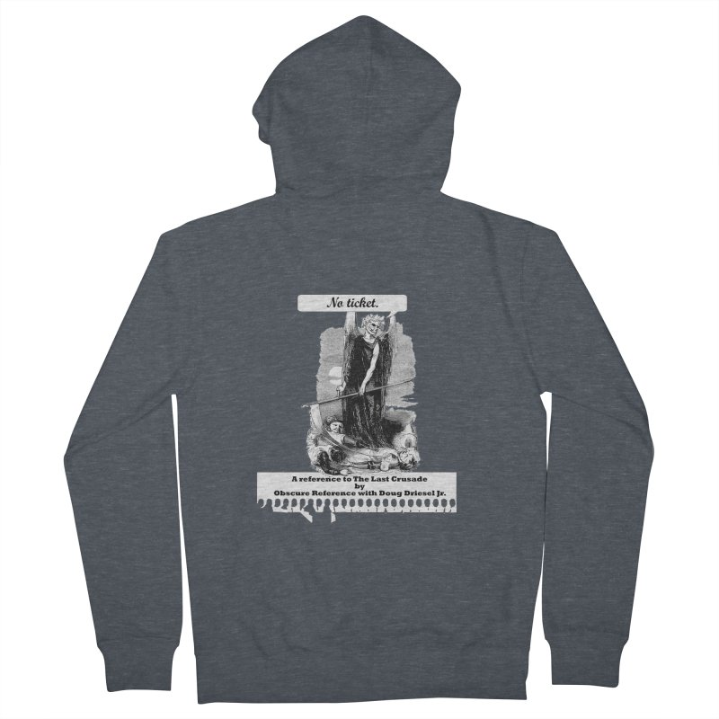 No Ticket Women's Zip-Up Hoody by obscurereferencepodcast's Artist Shop