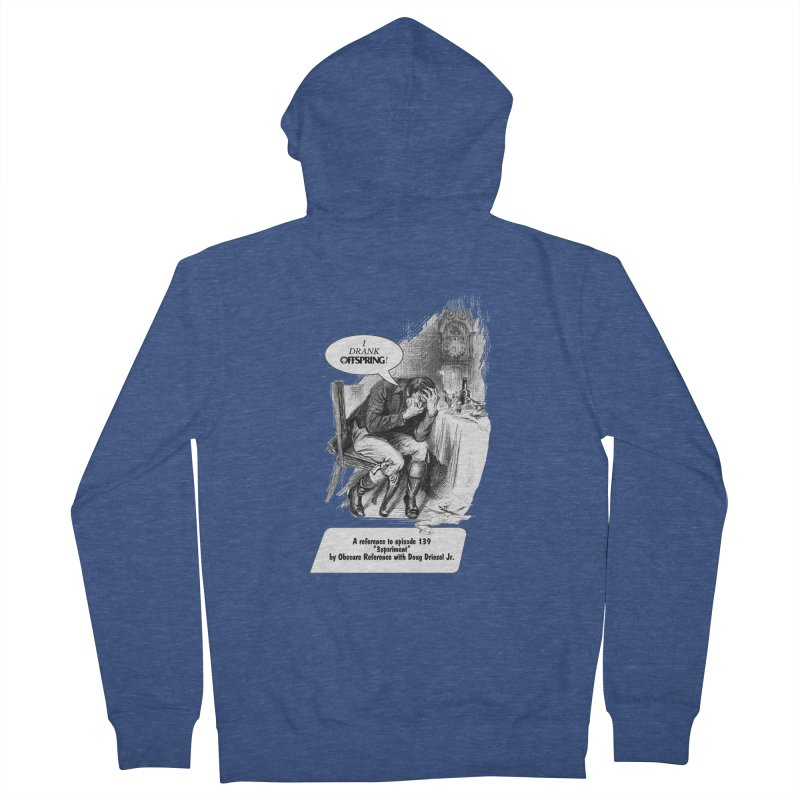 "Episode 139 ""Offspring"" Men's Zip-Up Hoody by obscurereferencepodcast's Artist Shop"