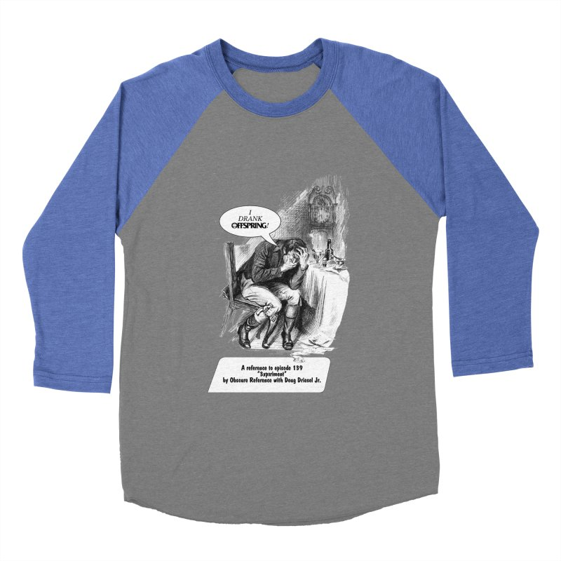 "Episode 139 ""Offspring"" Women's Baseball Triblend T-Shirt by obscurereferencepodcast's Artist Shop"