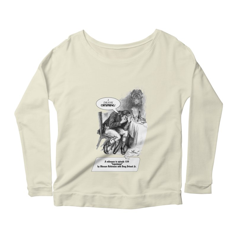"Episode 139 ""Offspring"" Women's Longsleeve Scoopneck  by obscurereferencepodcast's Artist Shop"