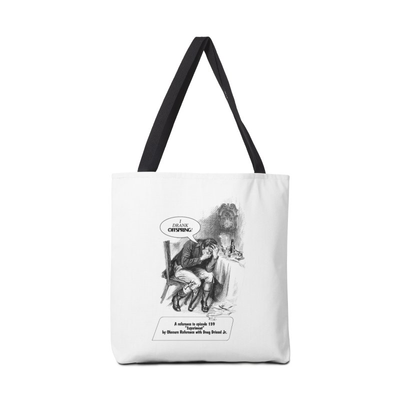 """Episode 139 """"Offspring"""" Accessories Bag by obscurereferencepodcast's Artist Shop"""