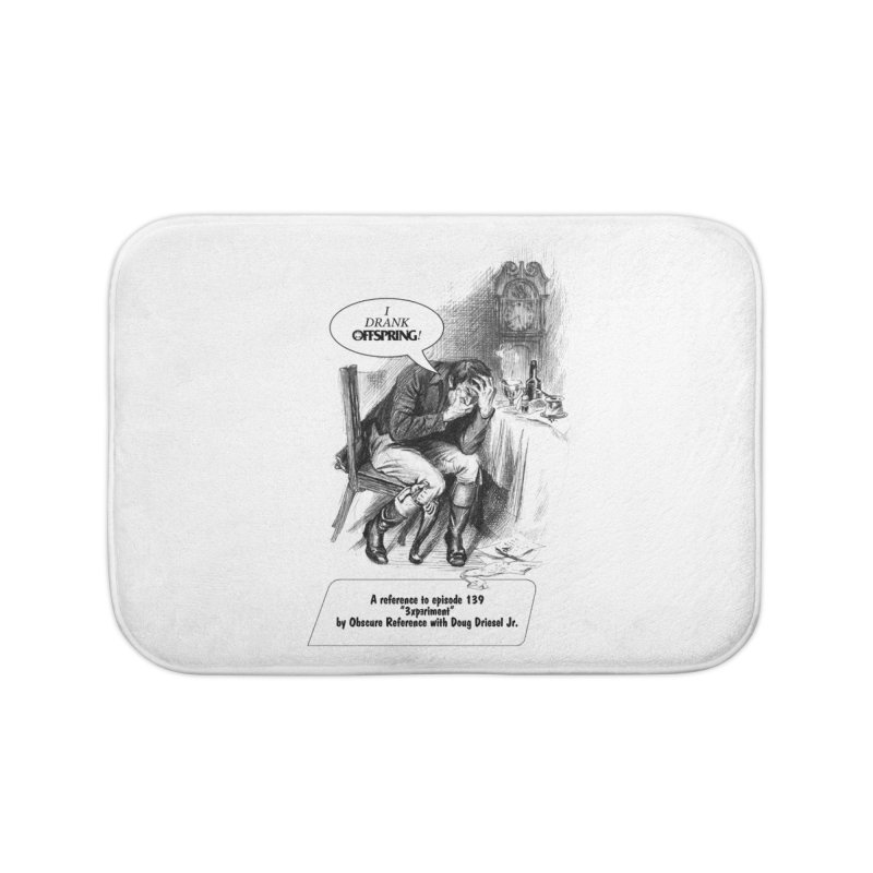 """Episode 139 """"Offspring"""" Home Bath Mat by obscurereferencepodcast's Artist Shop"""