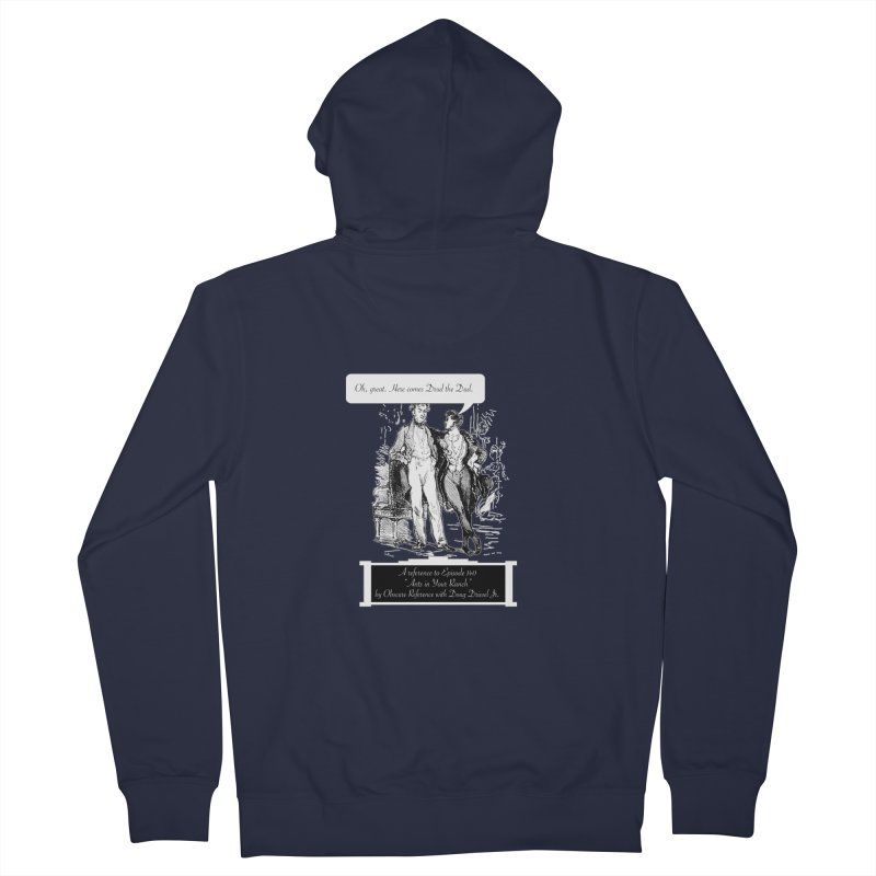 "Episode 140 ""Drud"" Women's Zip-Up Hoody by obscurereferencepodcast's Artist Shop"