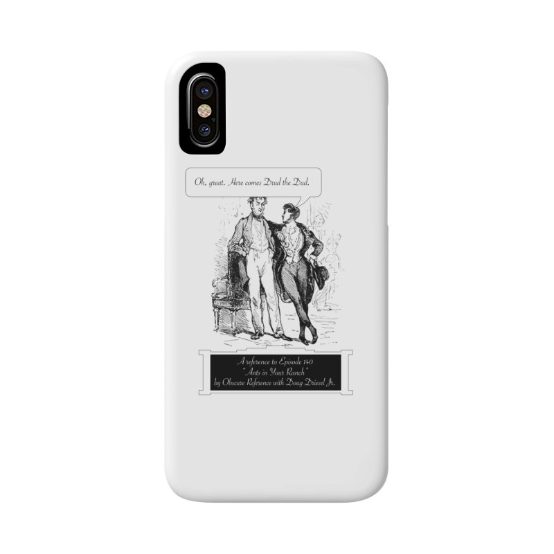 """Episode 140 """"Drud"""" Accessories Phone Case by obscurereferencepodcast's Artist Shop"""
