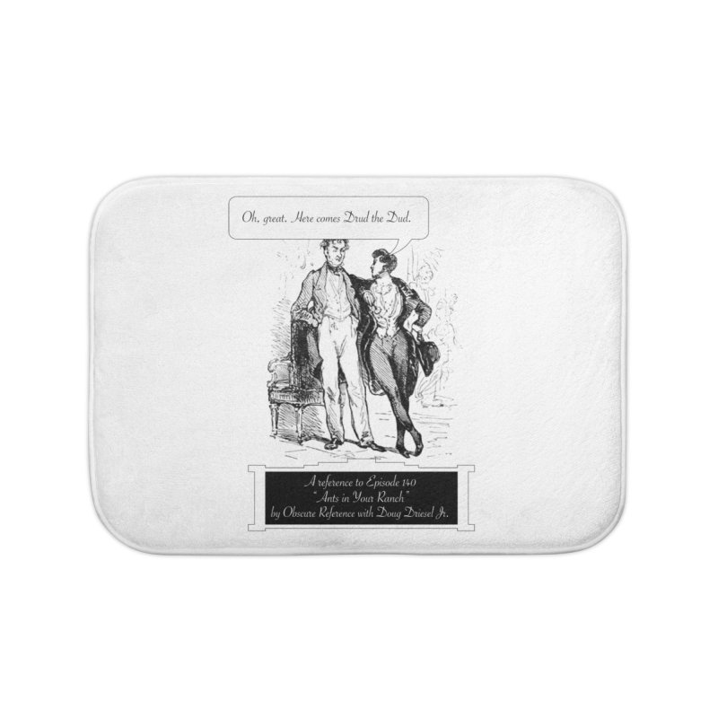 """Episode 140 """"Drud"""" Home Bath Mat by obscurereferencepodcast's Artist Shop"""