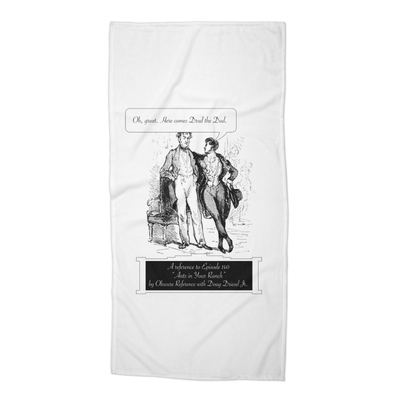 """Episode 140 """"Drud"""" Accessories Beach Towel by obscurereferencepodcast's Artist Shop"""