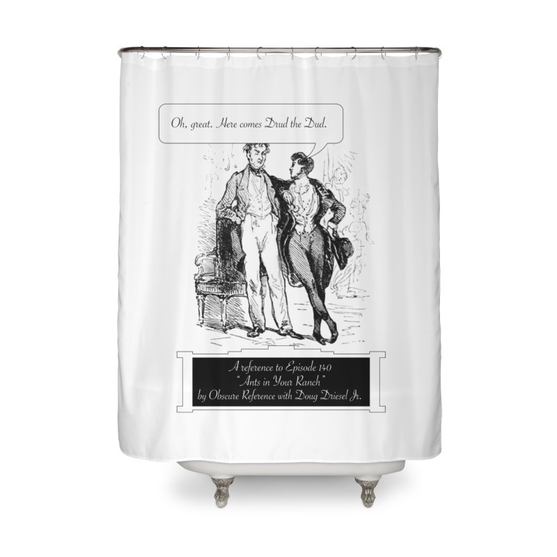 """Episode 140 """"Drud"""" Home Shower Curtain by obscurereferencepodcast's Artist Shop"""