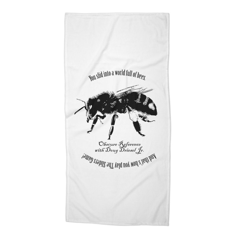 The Sliders Game Shirt Accessories Beach Towel by obscurereferencepodcast's Artist Shop