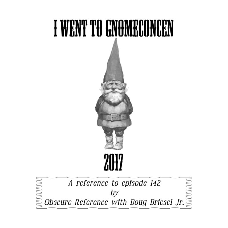 GnomeConCen Men's T-Shirt by obscurereferencepodcast's Artist Shop