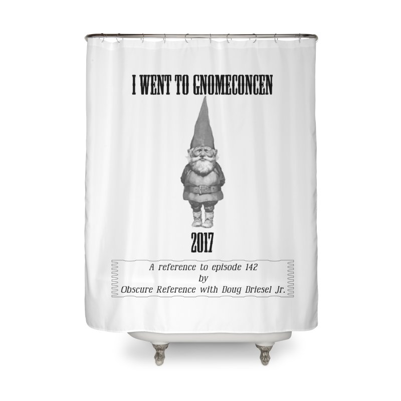 GnomeConCen Home Shower Curtain by obscurereferencepodcast's Artist Shop