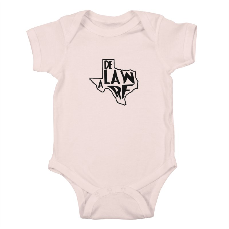 Texaware Kids Baby Bodysuit by obscurereferencepodcast's Artist Shop