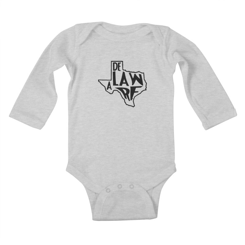 Texaware Kids Baby Longsleeve Bodysuit by obscurereferencepodcast's Artist Shop