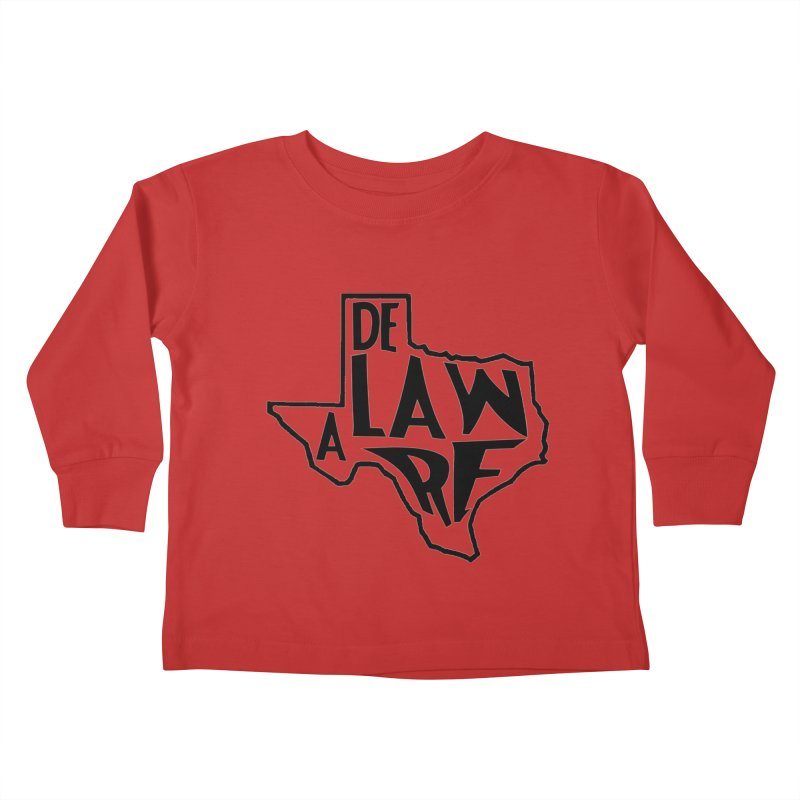 Texaware Kids Toddler Longsleeve T-Shirt by obscurereferencepodcast's Artist Shop