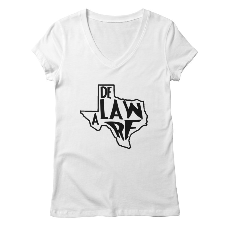Texaware Women's V-Neck by obscurereferencepodcast's Artist Shop
