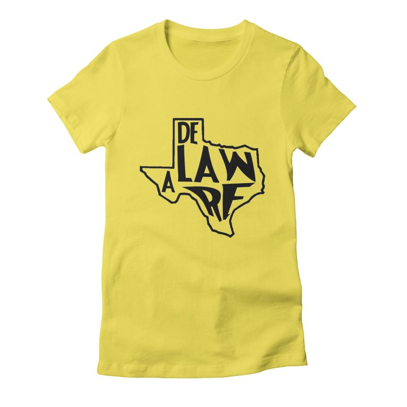 Texaware Women's Fitted T-Shirt by obscurereferencepodcast's Artist Shop