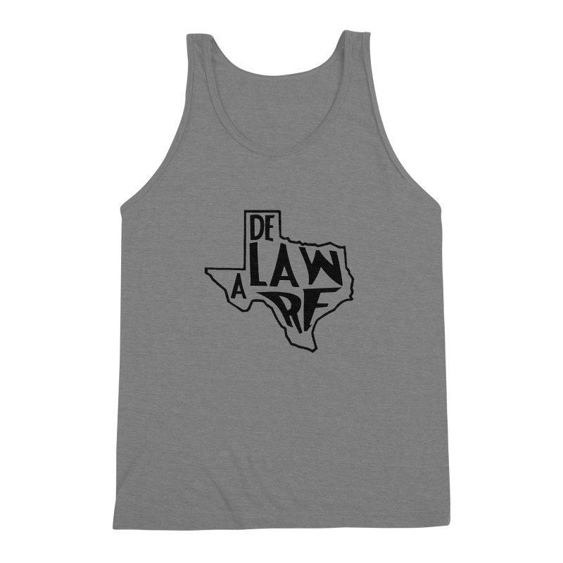 Texaware Men's Triblend Tank by obscurereferencepodcast's Artist Shop