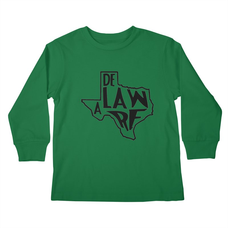 Texaware Kids Longsleeve T-Shirt by obscurereferencepodcast's Artist Shop