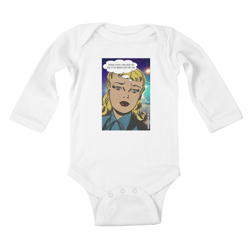 Heat of the Moment Kids Baby Longsleeve Bodysuit by obscurereferencepodcast's Artist Shop