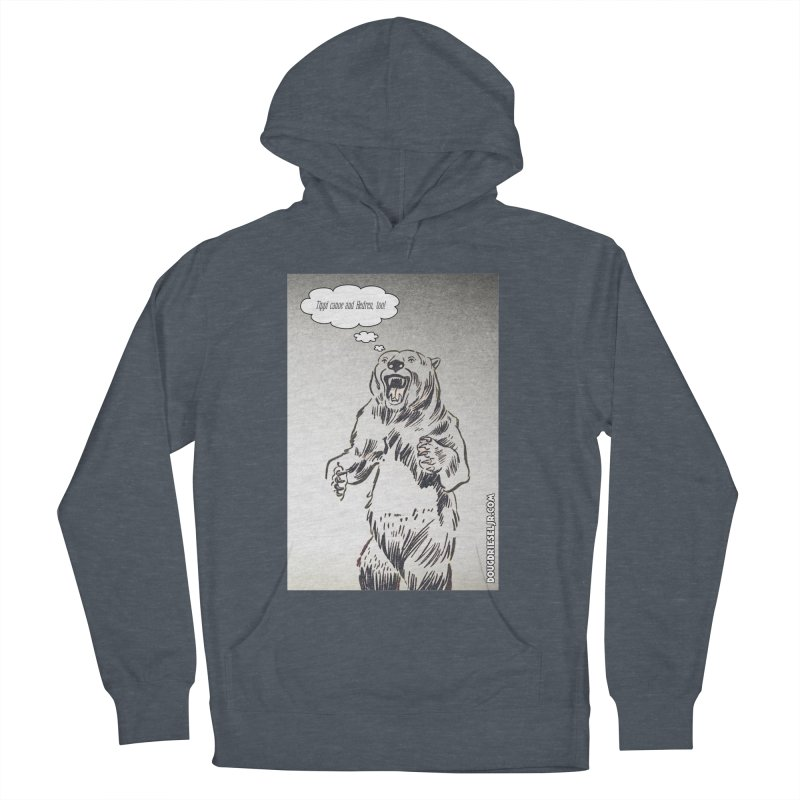 Tippi Bear Men's Pullover Hoody by obscurereferencepodcast's Artist Shop