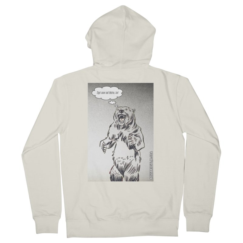 Tippi Bear Men's Zip-Up Hoody by obscurereferencepodcast's Artist Shop